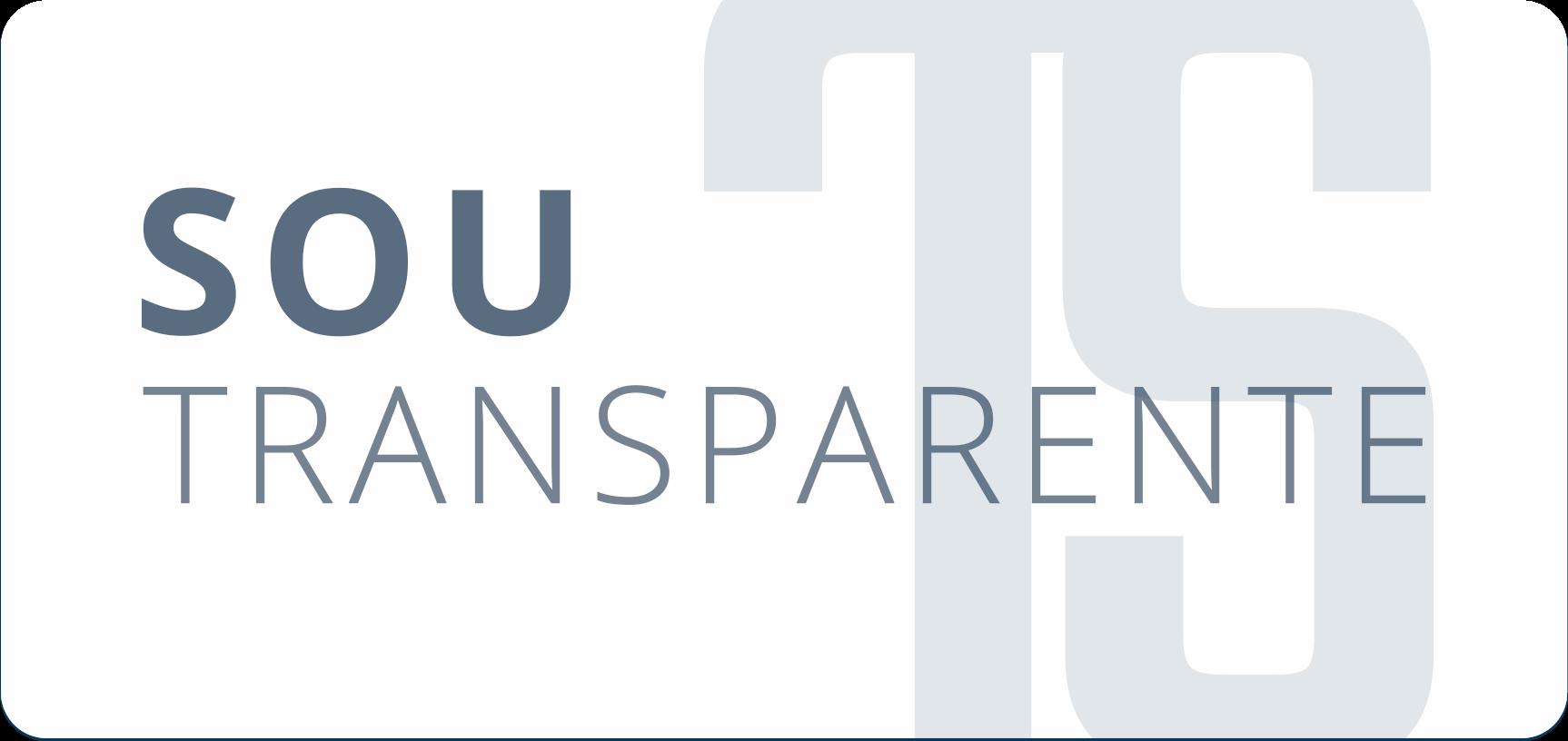 Selo Sou Transparente